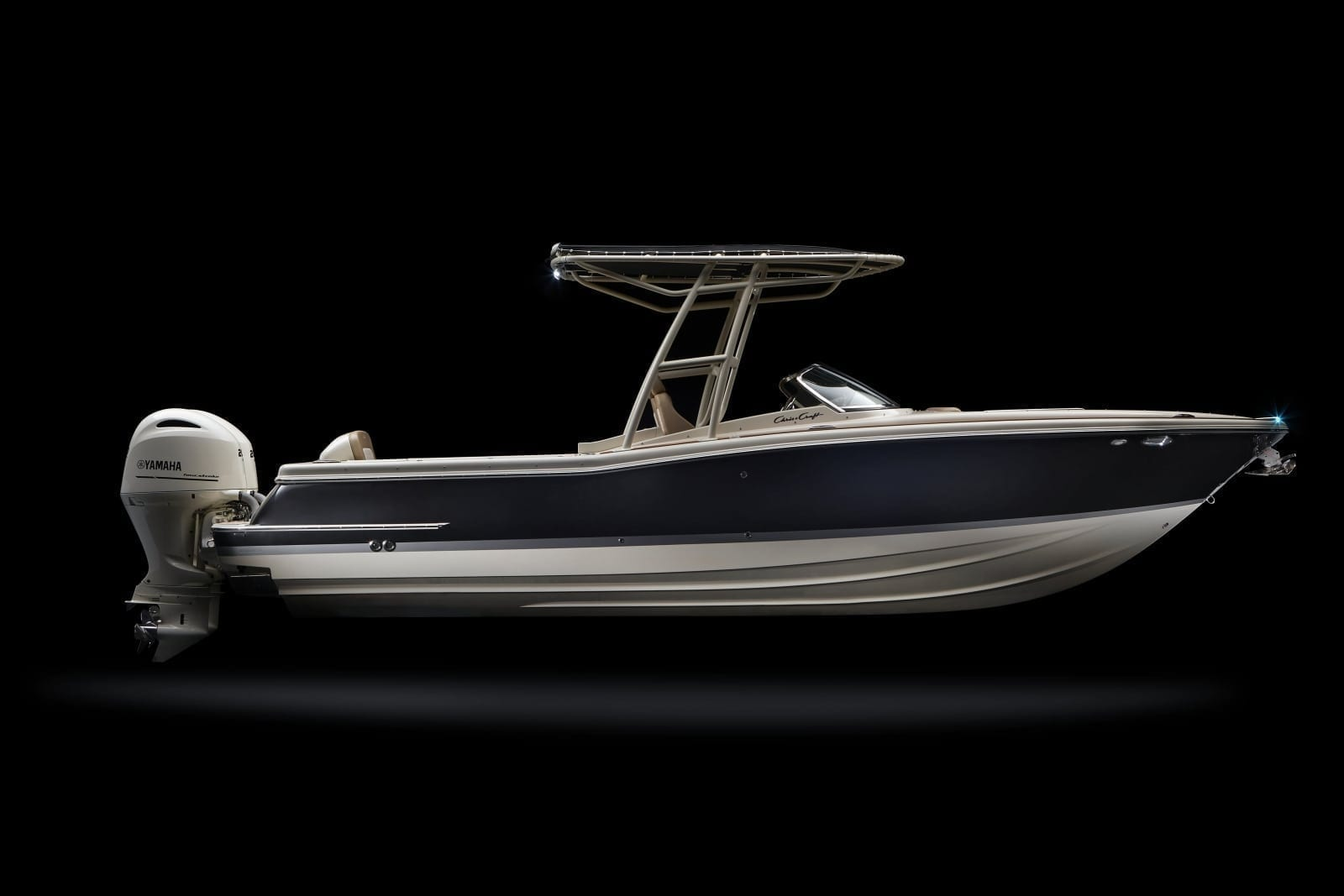 Chris Craft Calypso 26 Starboard Side Profile View