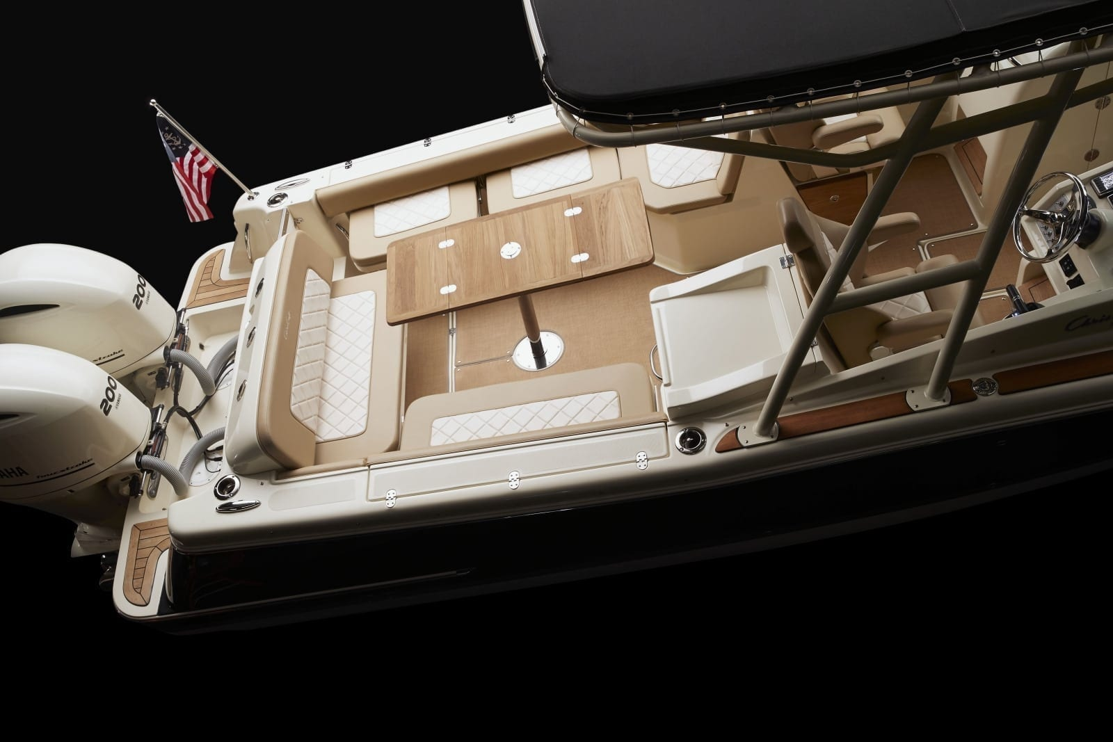 Chris Craft Calypso 26 Rear Table