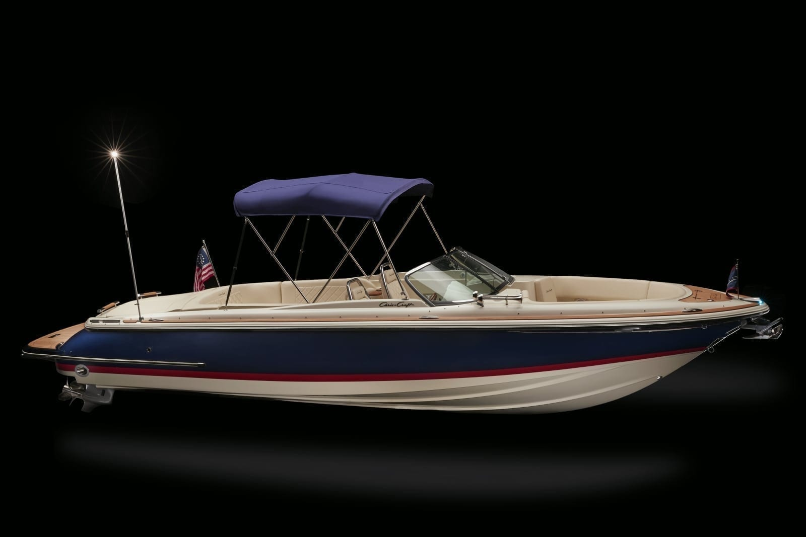 Chris Craft Launch 27 Starboard Profile