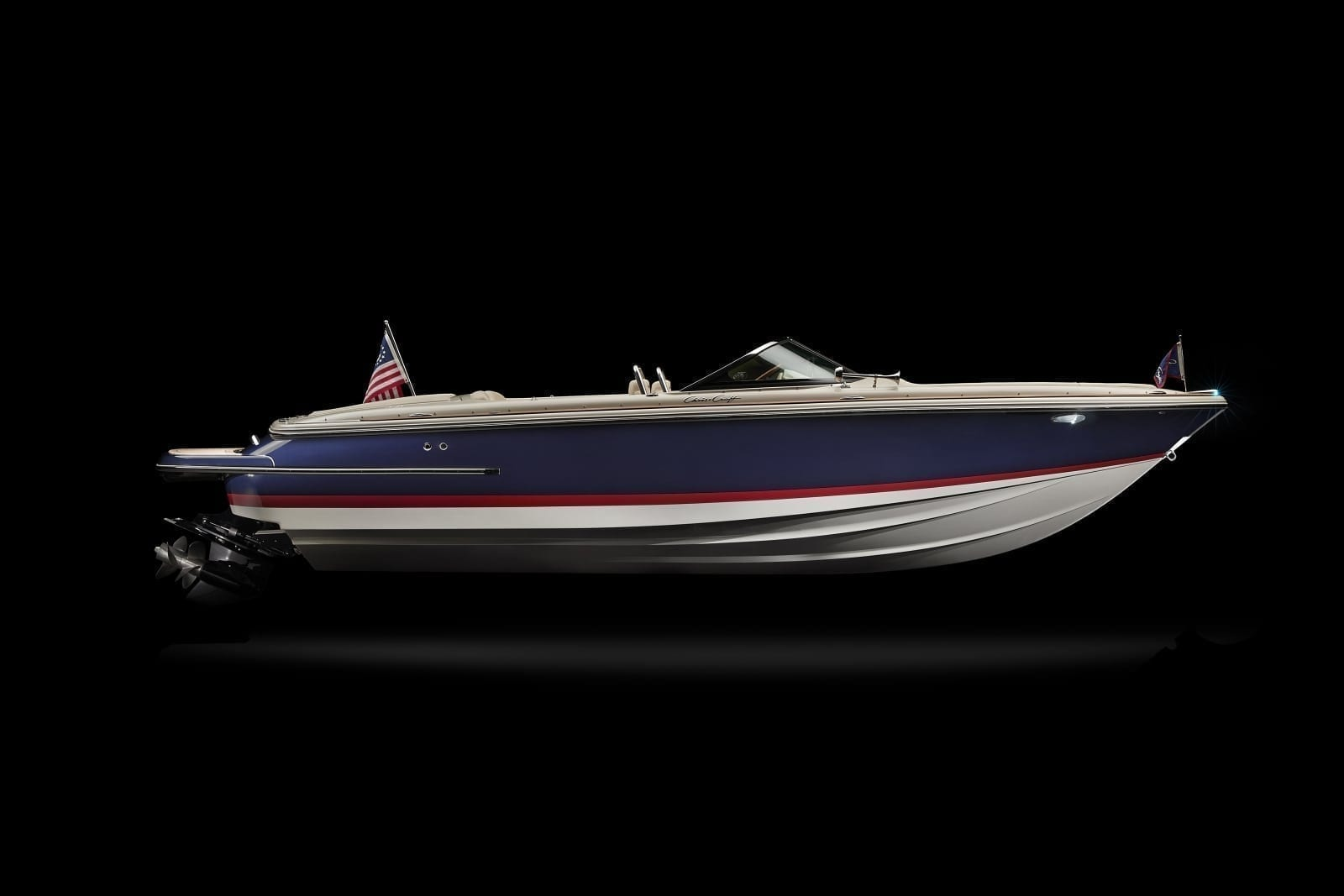 Chris Craft Launch 23 Starboard Profile