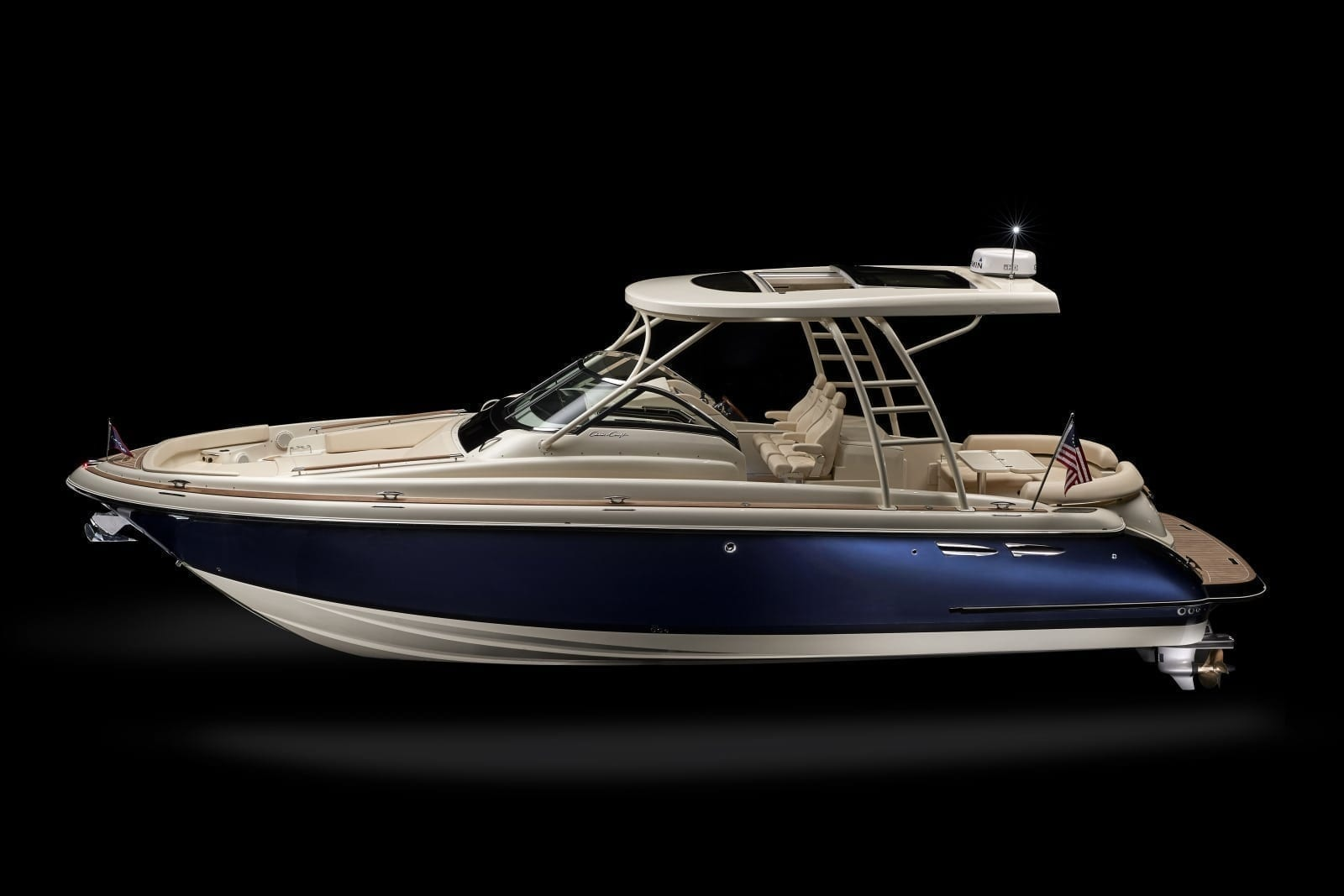 Chris Craft Launch 38 Side Profile View
